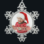 "Custom Photo Year Ornament<br><div class=""desc"">Celebrate this holiday season with a personalized photo ornament.</div>"