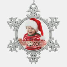 Custom Photo Year Ornament at Zazzle