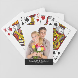JACOB Personalized Playing Cards Using Sign Letters