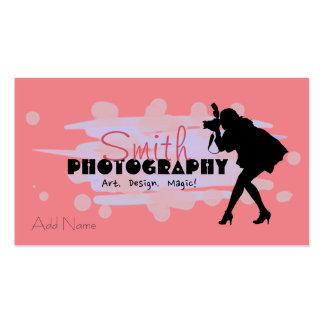 Custom Photography Design Business Cards