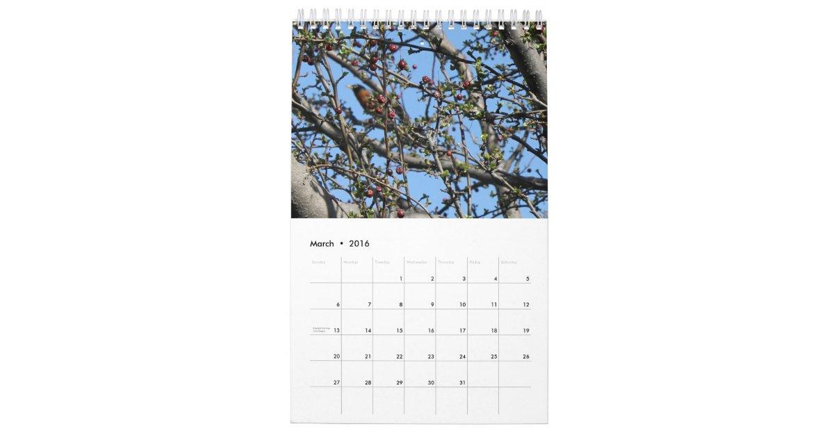 Custom Photography Wall Calendar Zazzle