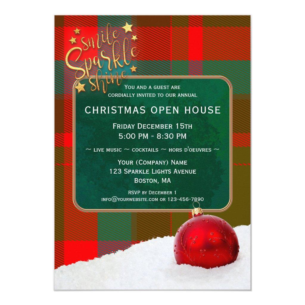 Custom Photos Christmas Holiday Invitation or Card