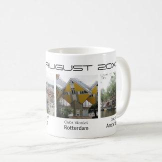 Custom photos editable text holiday souvenir coffee mug