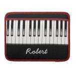 Custom Piano 13 Inch Macbook Pro Flap Sleeve Sleeves For MacBooks
