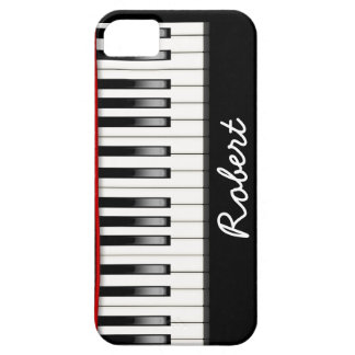 Custom Piano Casemate iPhone 5 Barely There Case