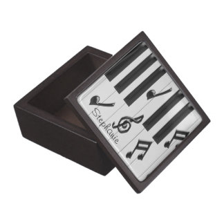 Custom Piano Keyboard Gift Box