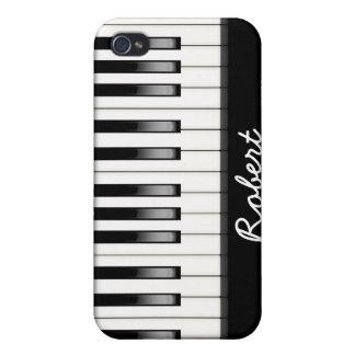 Custom PIano Keyboard iPhone 4/4S Case