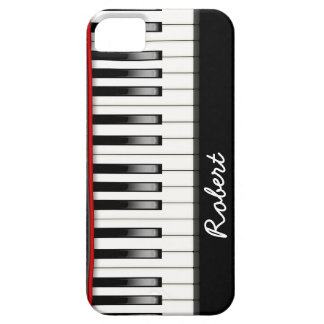 Custom Piano  Keyboard iPhone 5 Barely There Case