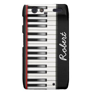 Custom PIano Keyboard Motorola Droid RAZR Case