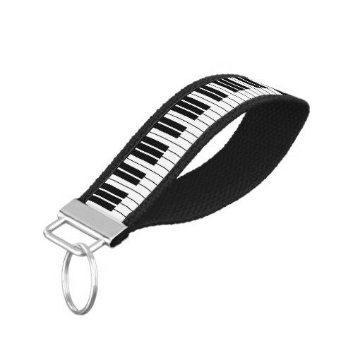 Custom piano keys wrist keychain for pianist