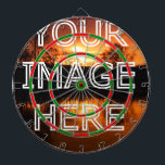 "Custom Picture Personalized Photo Dart Board<br><div class=""desc"">Custom personalized photo dart board. Add your own pictures to create a special gift.</div>"