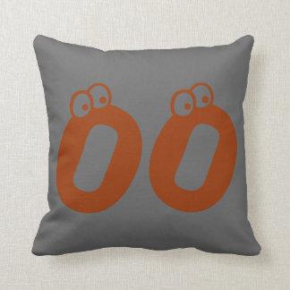 custom pillow-- ink spots