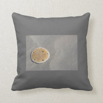Custom Pillow Sand Dollars by creativeconceptss at Zazzle