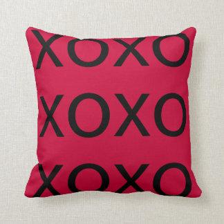 custom pillow--valentines XOXOXOX Throw Pillow