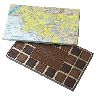 Custom Pilot Congratulations Box Of Chocolates