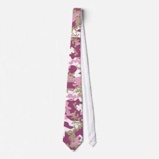 Custom Pink Camo Tie