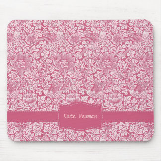 Custom Pink Chintz Mouse Pad