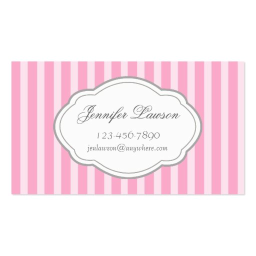 Pink business cards idealstalist pink business cards flashek Gallery