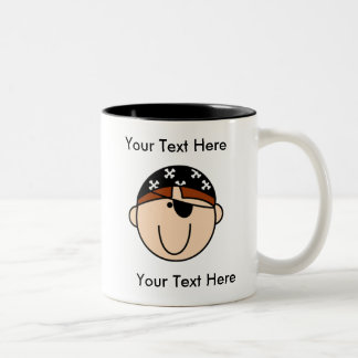 Custom Pirate Red Mug - Customizable
