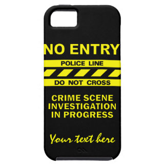 Custom Police Line iPhone Case-Mate iPhone SE/5/5s Case
