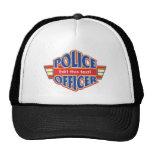 Custom Police Officer Trucker Hat