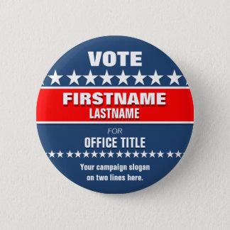 Custom Political Button