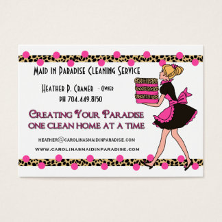 Printed Cleaning Service Business Cards & Templates   Zazzle