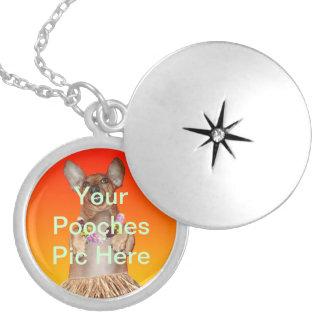 Custom Pooch Photo Necklace