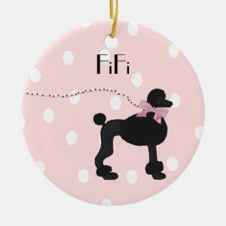 Custom Poodle ornament