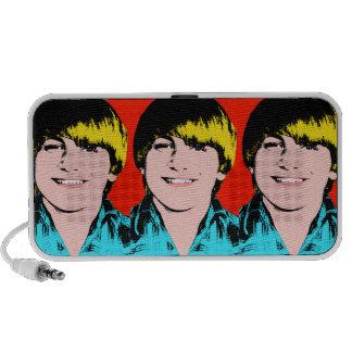 Custom Pop Art Teen Boy Speaker System