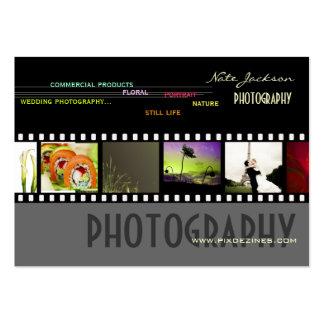 Custom Portfolio business cards photos template