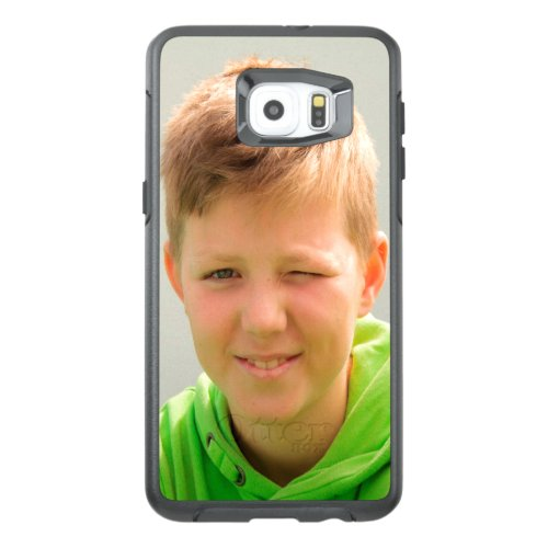 Custom portrait size photo children add photo Phone Case