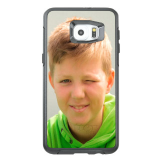 Custom portrait size photo children add photo OtterBox samsung galaxy s6 edge plus case