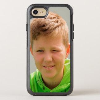 Custom portrait size photo children add photo OtterBox symmetry iPhone 7 case