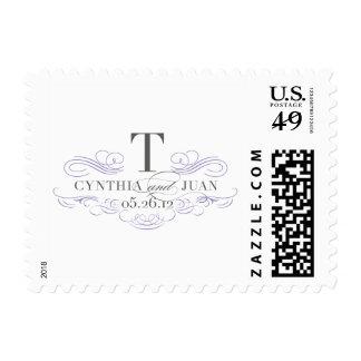 Custom Postage for Cynthia and Juan
