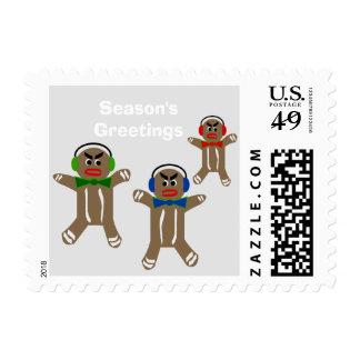 Custom Postage - Gingerbread Cookies