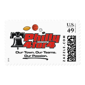 Custom Postage - Philly 4 for 4