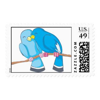 Custom Postage Stamps | Bird Lovers Sweethearts