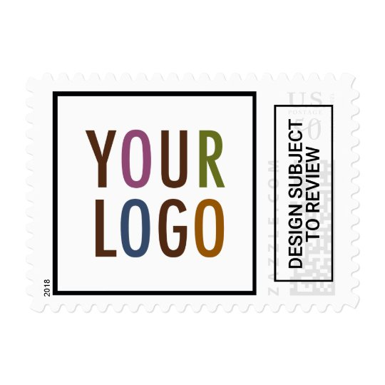 Custom Postage Stamps Company Logo for Business
