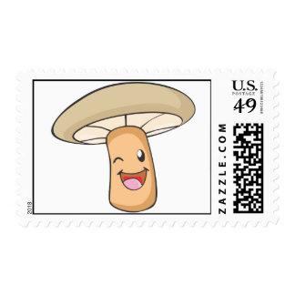Custom Postage Stamps | Cute Mushroom
