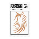 Custom Postage Stamps | Racing Horse Logo