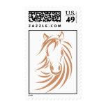 Custom Postage Stamps | Racing Horse Logo