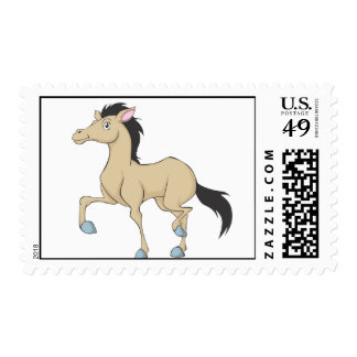 Custom Postage Stamps | Running Horse