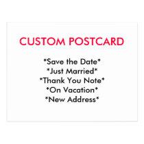 Custom Postcard