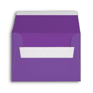 custom pre addressed lavender purple envelopes envelopes