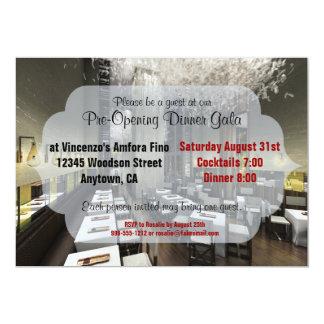 Custom Pre/Grand Opening Restaurant Invites
