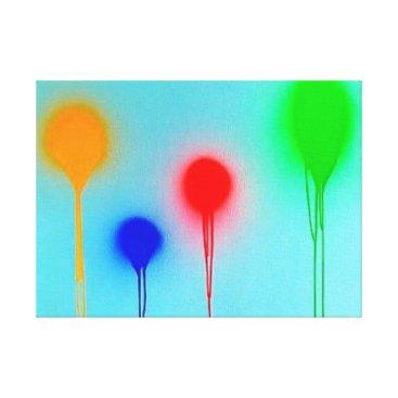 Art Themed Custom Premium Wrapped Canvas (Gloss)