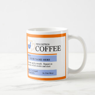 Custom Prescription Coffee Mug