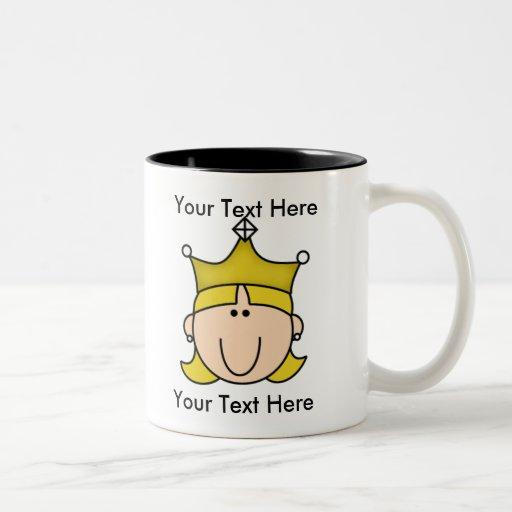 Custom Princess Blonde Mug