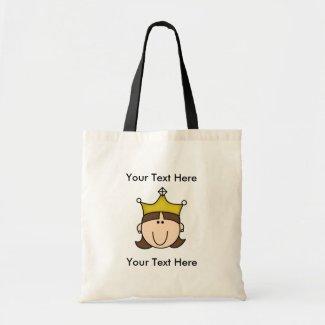CUSTOM PRINCESS BROWN Bag bag